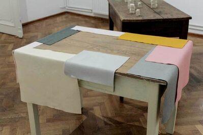 Vlatka Horvat, 'Overhang Table', 2018