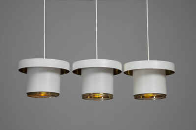 Alvar Aalto, 'Set of Three Ceiling Lights, Model no. A201', ca. 1950