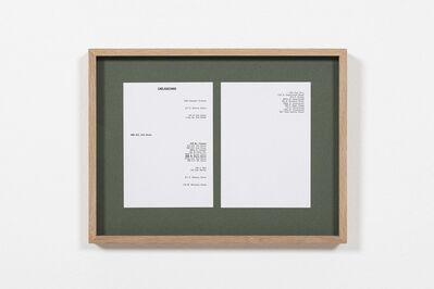 Kapwani Kiwanga, 'Greenbook, Oklahoma (1961)', 2019