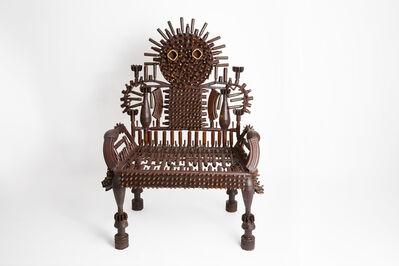 Gonçalo Mabunda, 'Throne of the village', 2020