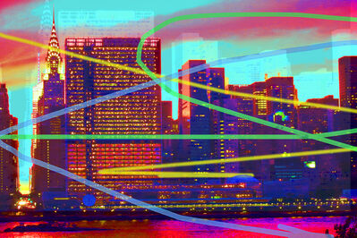 Carlos Rodal, 'Midtown Neon Manhattan', 2019