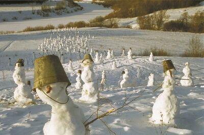 Nikolay Polissky, 'Snowmen', 2000