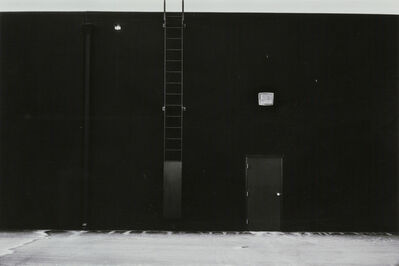 Lewis Baltz, 'East Wall, McGaw Laboratories, 1821 Langley, Costa Mesa #24 from The New Industrial Parks near Irvine, California', 1974
