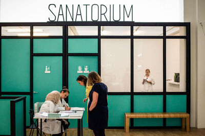 Pedro Reyes, 'Installation view of Sanatorium from Whitechapel Gallery, London'