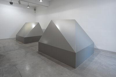 Olivier Mosset, 'Toblerones', 2011
