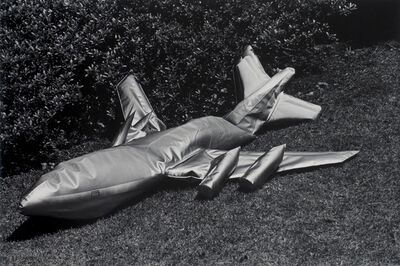 Kikuji Kawada, 'Jumbo Jet, Tokyo, Los Caprichos, 1978', 1986