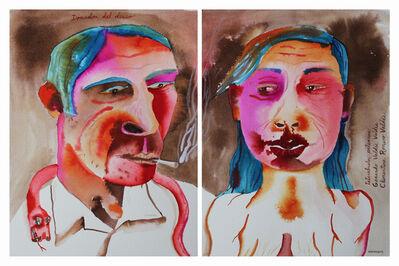 Eduardo Sarmiento, 'Gerardo Valdes Valdes & Clementina Romero Valdes - Great-Great-Grandparents', 2012
