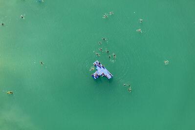 Klaus Leidorf, 'Blue raft', 2015