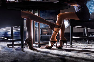 David Drebin, 'Kissing Legs', 2018