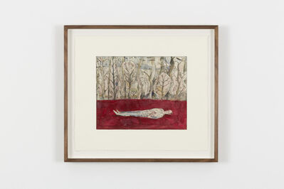 Volker Hüller, 'Under the Trees II (red),', 2020