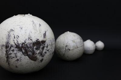 Shiro Tsujimura, 'Kohiki round pot', 2018
