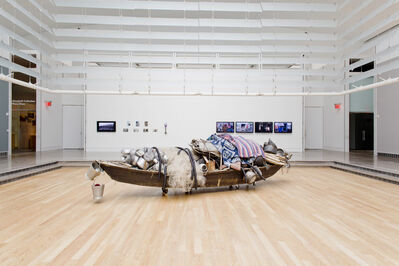 Subodh Gupta, 'What does the room encompass that is not in the city?', 2014