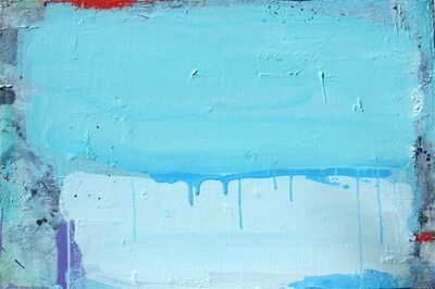 Lisa Fellerson, 'Untitled (2 Blues)', 2012