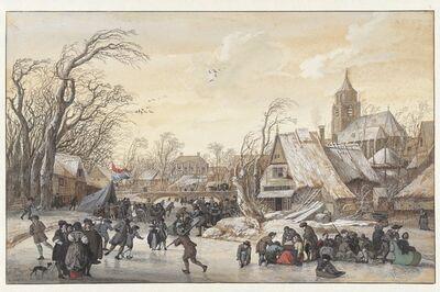 Gerrit van Battem, 'Winter Landscape', 1670-1680