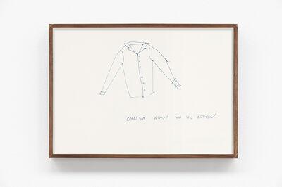 Wilfredo Prieto, 'Camisa nueva sin un botón', 2016