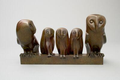 Daniel Daviau, 'Owls Family', 2006
