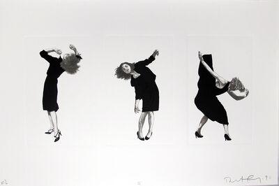 Robert Longo, 'Men in the Cities, Tokyo, Seibu Department Stores, Ltd. II (3 Women)', 1990