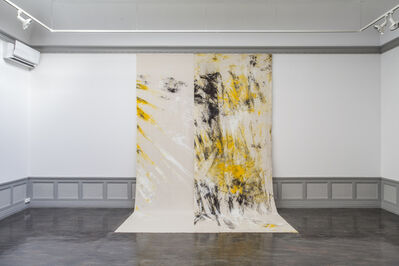 Jessica Warboys, 'Sea Painting 1', 2016