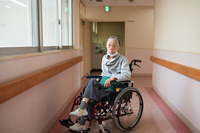 Takahiro Kaneyama, 'My Mother in a Wheelchair', 2016