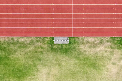 "Zoe Wetherall, '""Track"" Minimalist Landscape (Color Photograph)', 2019"