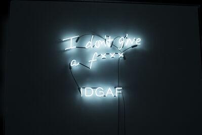 Rachel Lee Hovnanian, 'IDGAF', 2014