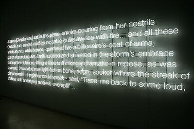 Cerith Wyn  Evans, 'Joanna (Chapter One)...', 2010