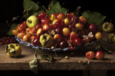 Paulette Tavormina, 'Yellow Cherries and Crab Apples, After G.G.', 2011