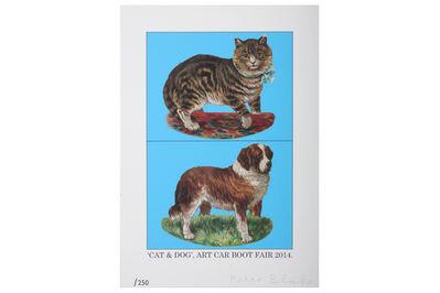 Peter Blake, 'Cat & Dog', 2014