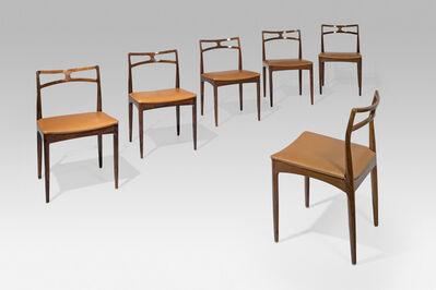 Johannes Andersen, 'Set of twelve chairs', 1961