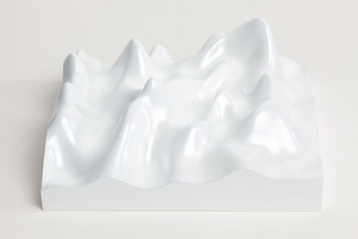 Peter Saville, 'Unknown Pleasure, Miraval 5311, Scenic white on white background', 2015