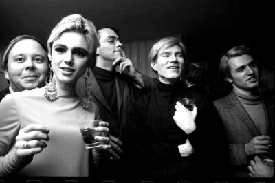 Steve Schapiro, 'Andy Warhol, Edie Sedgwick and Entourage II, New York', 1965