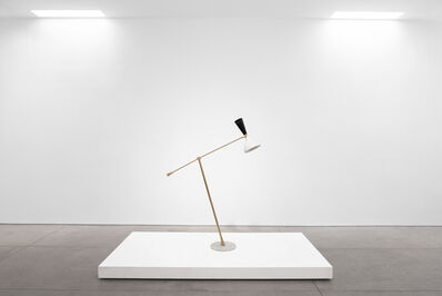 Giuseppe Ostuni, 'Mid-Century Modern Brass & Marble Floorlamp, c. 1960s', 1960-1969