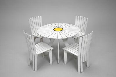 Alvar Aalto, ''Sunflower' Dining Set', ca. 1950