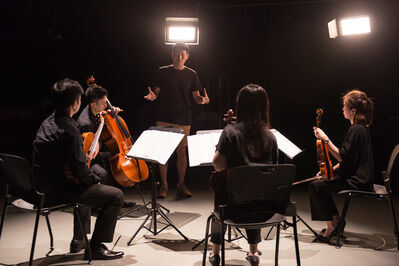 Samson Young 楊嘉輝, 'Muted Situation #1: Muted Classical Quartet', 2014