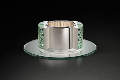 Jean E. Puiforcat, 'Art Deco Centerpiece'