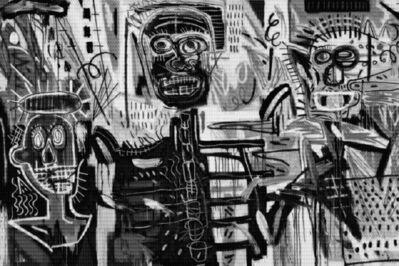 Alex Guofeng Cao, 'Basquiat Philistines vs Basquiat ', 2013
