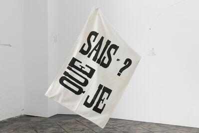 Ana Jotta, 'Que Sais-Je?', 2011