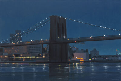 Stephen Magsig, 'Brooklyn Bridge Nocturne '