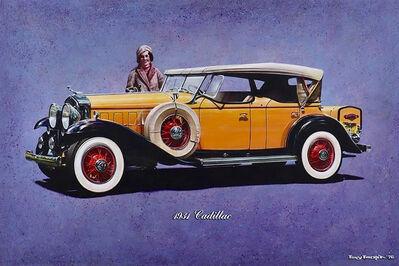 Tony Fachet, 'Woman with 1931 Cadillac ', 1976
