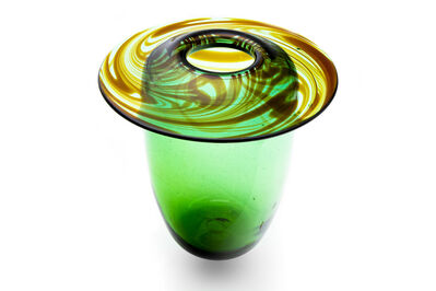 Dale Chihuly, 'Dale Chihuly  Carpenter Early 1974 Glass Vase Signed and Dated Best Offer', 1974