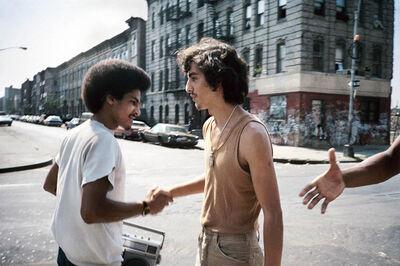 Meryl Meisler, 'Handshake', 1984