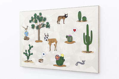 Gabriel Rico, 'The second cause is meant to be an explanation of the first (Páramo, Desert)', 2021