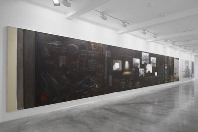 Lisa Milroy, 'Black and White', 2004-2005