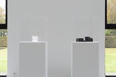 Lieven De Boeck, 'Moule en verre noir et blanc', 2014