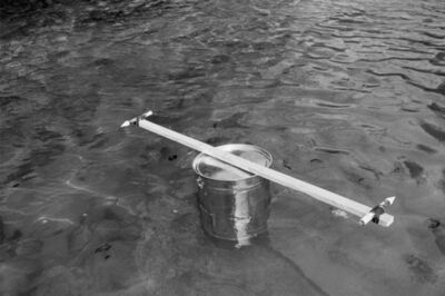 Roman Signer, 'Eimer mit Raketen/ Bucket with Rockets', 1982