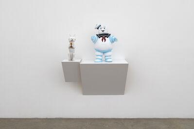 Haim Steinbach, 'Untitled (rabbit, sailor)', 2016