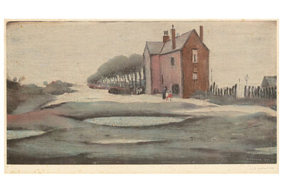 Laurence Stephen Lowry, 'The Lonely House'
