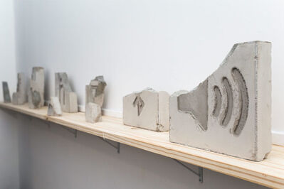 Ignacio Gatica, 'Geografia Personal Fragmentos', 2016