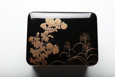 Unknown, 'Tiered Box with Chrysanthemum (T-4035)', Meiji era (1868, 1912), ca. 1910