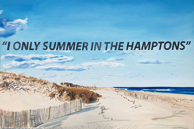 The Kaplan Twins, 'I Only Summer in the Hamptons', 2018